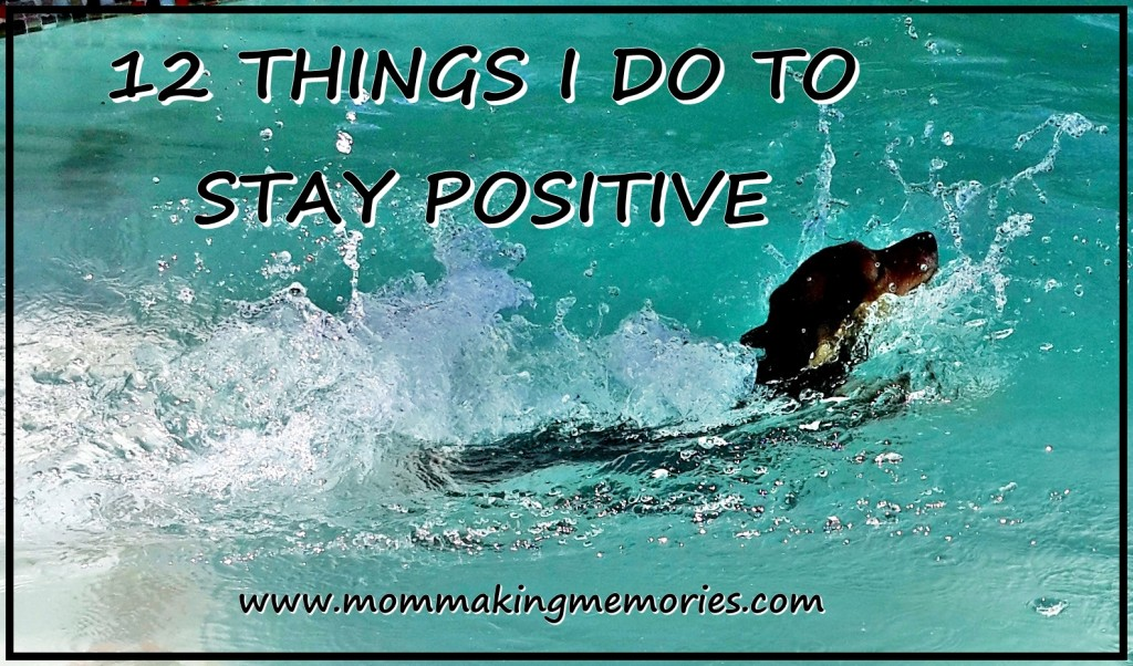 12 Things to stay positive facebook