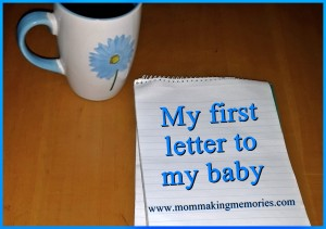 My first letter to my baby facebook