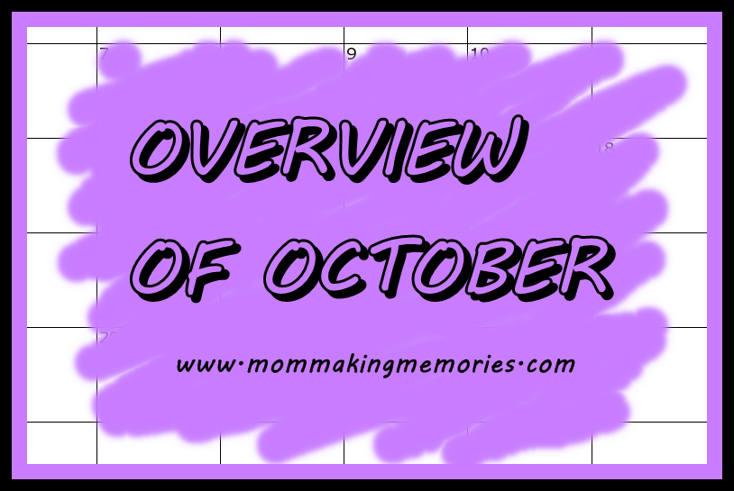 overview of october facebook