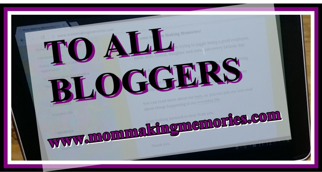 To all bloggers fb