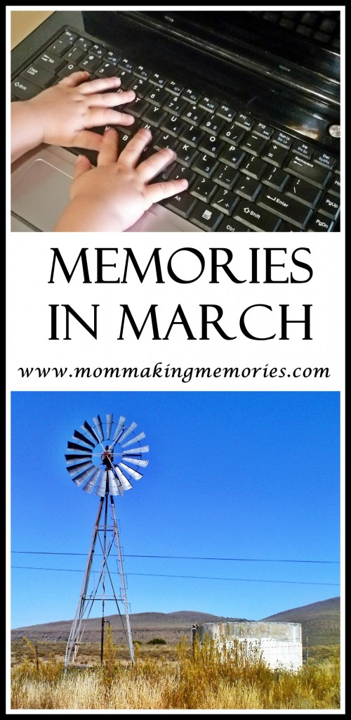 Join me for my walk down memory lane as I look at memories in March.