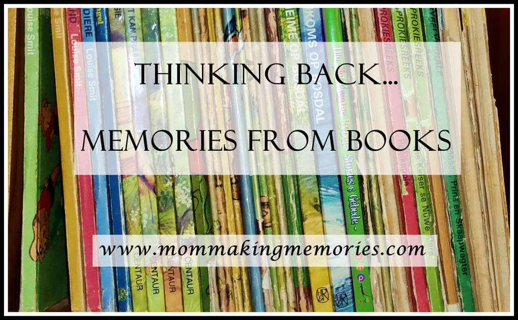 Thinking back... Memories from books