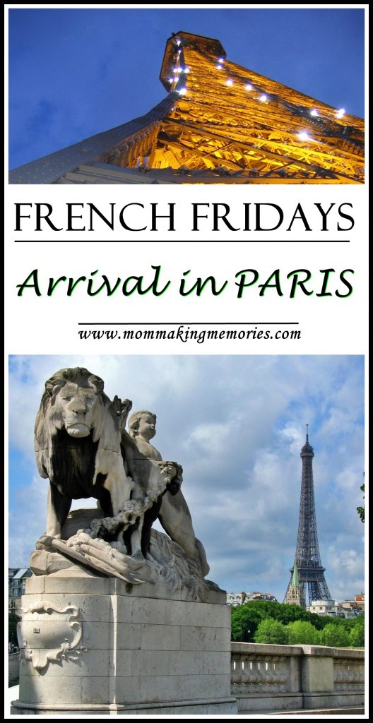 Arrival in Paris. French Fridays