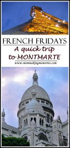 French Fridays. Montmarte. Paris