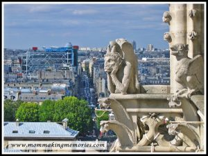 View from Notre Dame in Paris. www.mommakingmemories.com