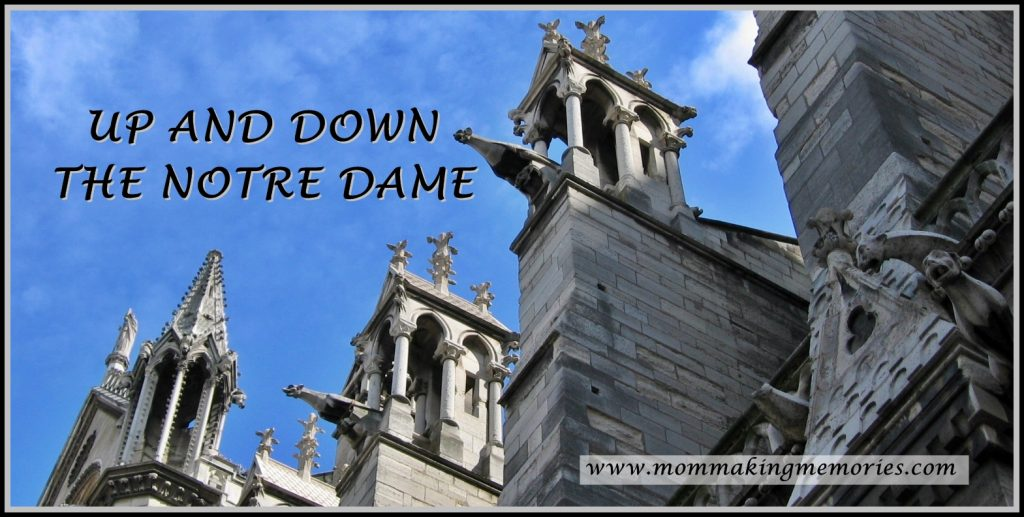 French Fridays. Up and down the Notre Dame. www.mommakingmemories.com