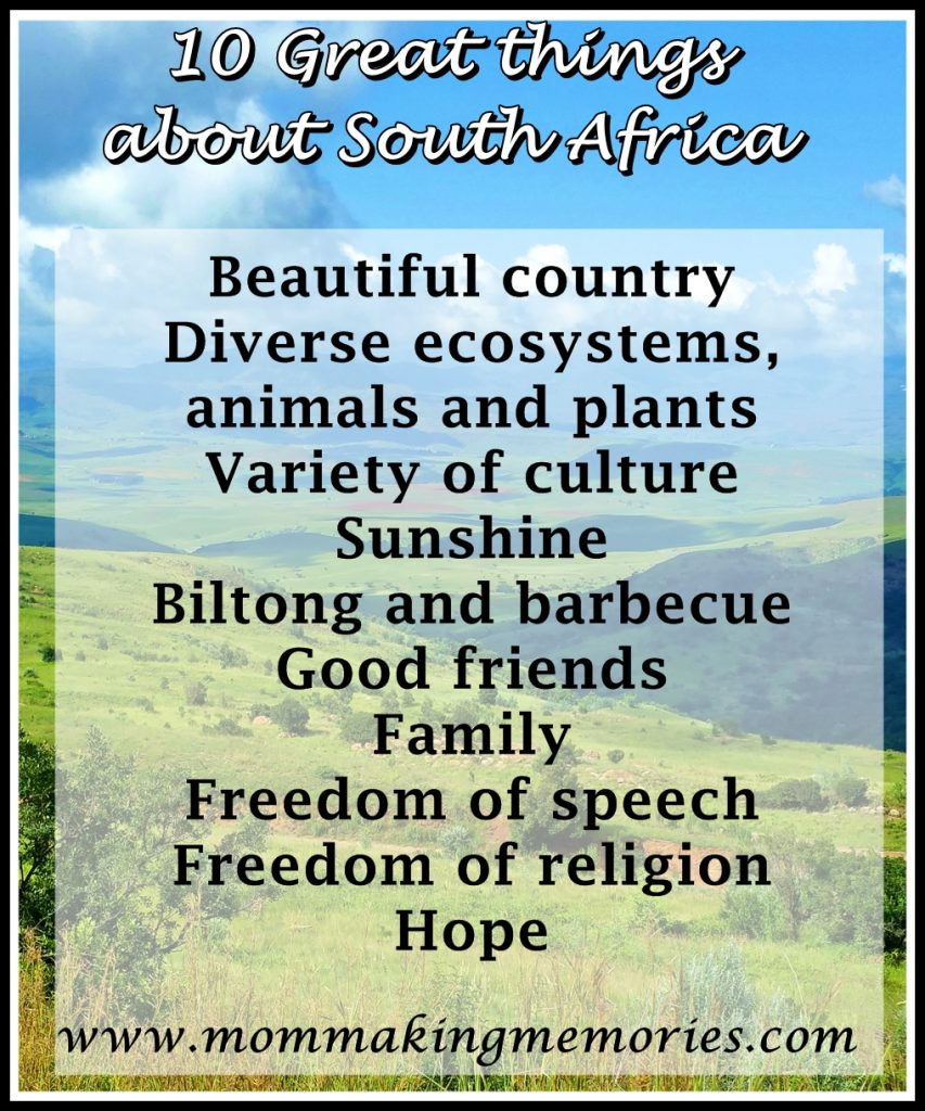 10 great things about South Africa. www.mommakingmemories.com