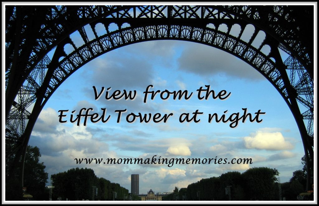 Eiffel Tower at night. www.mommakingmemories.com