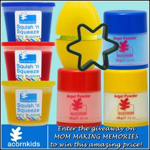 Acornkids giveaway on Mom Making Memories.