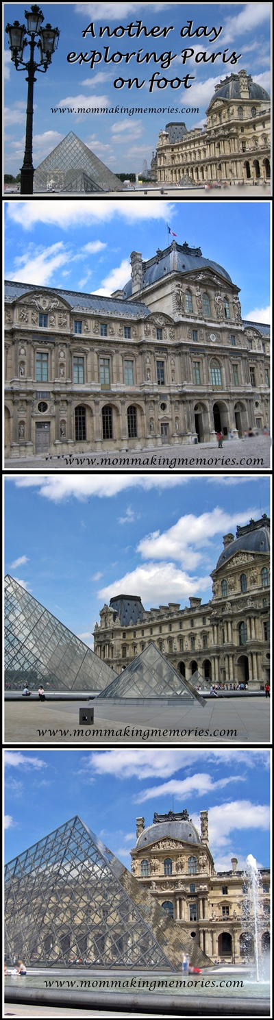 Exploring Paris on foot. Louvre. www.mommakingmemories.com